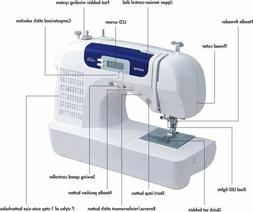 BROTHER CS6000i SEWING MACHINE *BRAND NEW* NIB EVERYTHING IN