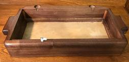 Custom Singer Sewing Machine walnut Base for Fits 66--15-91-