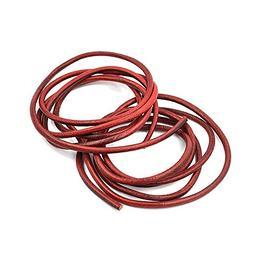 Driak 2Pcs Dark Red Quality Leather Belt for Singer Treadle