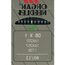 Organ DB X 1 Industrial Needles 16X257 Size 80/12