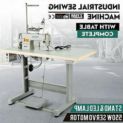 DDL-8700 Sewing Machine with Table+Servo Motor+Stand&Lamp In