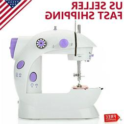 Desktop Sewing Machine Mini Electric Portable Hand Held Doub