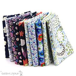 RayLineDo 10 Pcs Different Pattern Multi Color 100% Cotton P