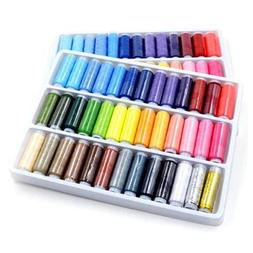 DIY 39PCS Mixed Colors 200 Yard Polyester Sewing Thread Mach