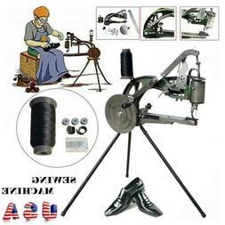 DIY Shoe Repair Machine Making Sewing Hand Manual Cotton/Lea