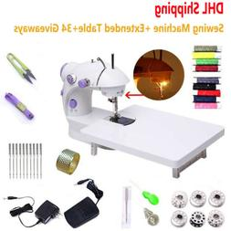 Electric Sewing Machine Desktop Household Tailor 2 Speed Foo