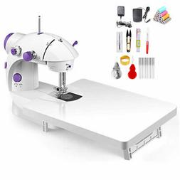 Electric Sewing Machine Desktop Household Tailor LED 2 Speed