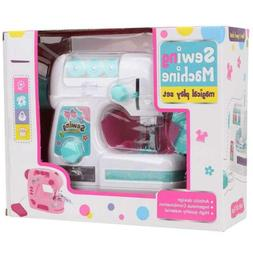 Electric Sewing Machine Toy for Girls Small Household Applia