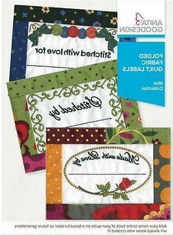 Anita Goodesign Embroidery Machine 15 Design Cd Folded Label