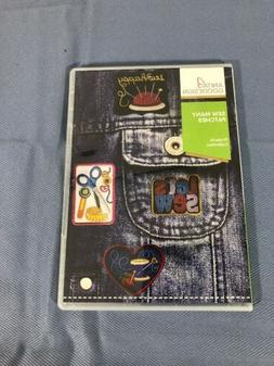 Anita Goodesign Embroidery Machine Design CD SEW MANY PATCHE