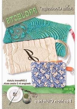 Anita Goodesign Embroidery Machine Designs CD FASHION CLUTCH