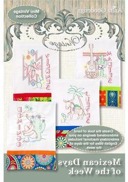 Anita Goodesign Embroidery Machine Designs CD MEXICAN DAYS O