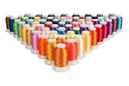 Embroidery Thread Set – Polyester Sewing String for Machin