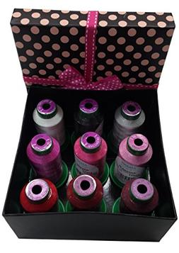 Isacord Embroidery Thread Gift Box Pretty in Pink