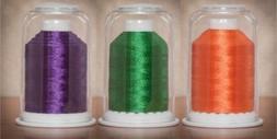 Hemingworth 1000 m Embroidery Thread Color Set, Orange - Gre