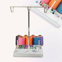 HONEYSEW Embroidery Thread Spool Holder Stand Sewing Machine