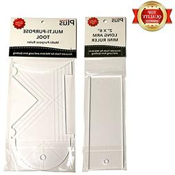 EncorePlus 2in x 6in Long Arm Mini Ruler & EncorePlus Multi-