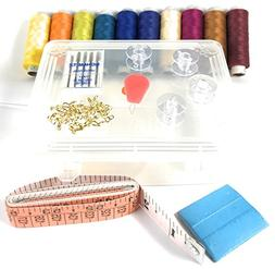 CRPK's Essential Sewing kit bundle - 10 spools of thread ass