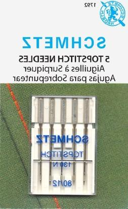 Euro Notions Topstitch Machine Needle  - 5 per package