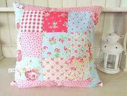 Cath Kidston Patchwork Fabric Cushion Kit Easy Hand or Sewin