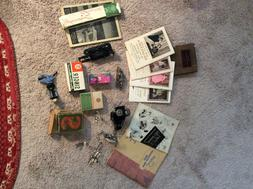 Singer Featherweight Sewing Machine Attachments and Manuals.