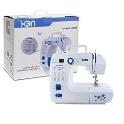 Full-Featured Sewing Machine with 30 Stitches - NEX Portable