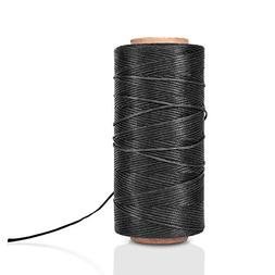 Flat Waxed Thread  - 284Yard 1mm 150D Wax String Cord Sewing