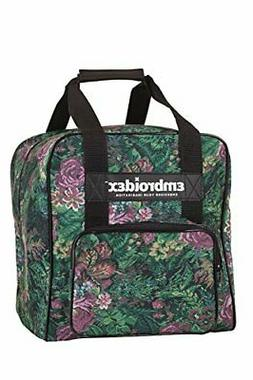 Embroidex Floral Serger/Overlock Carrying Case - Carry Tote/