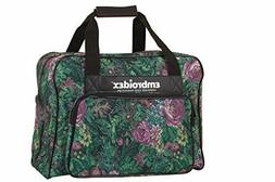 Embroidex Floral Sewing Machine Carrying Case - Carry Tote U