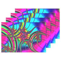 ENEVOTX Fractal Pattern Abstract Form Chaos Chaotic Placemat