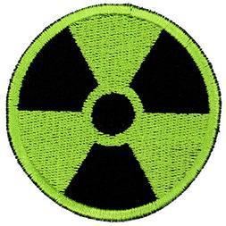 Gamma Radiation Radioactive Symbol Patch Embroidered Iron On