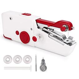 Handheld Sewing Machine, Cordless Electric Stitch Portable T