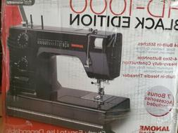 Janome HD1000 Black Edition Heavy Duty Commercial-Grade Sewi