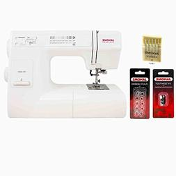 Janome HD3000 Mechanical Sewing Machine with Accessories Har