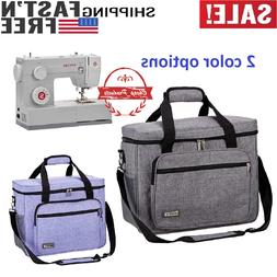 HOMEST Sewing Machine Carrying Case, Universal Tote Bag w Sh
