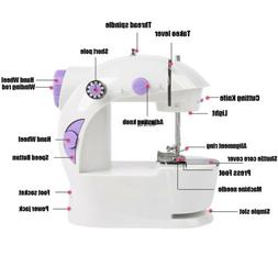 Hot Sale Desktop Sewing Machine Electric Hand Held Double Sp