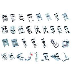 Household Sewing Machine Foot, Multifunctional 32PCs Presser