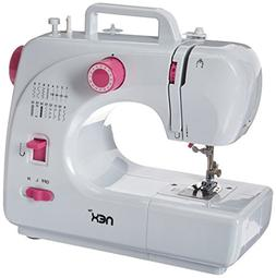 NEX HT-CS141W Sewing Machine with Free-Arm 16-Stitch