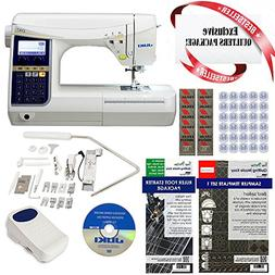 Juki HZL-DX7 Computerized Sewing Machine w/ Limited time Qui