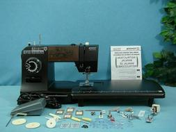 TOYOTA industrial strength sewing machine sew LEATHER & UPHO