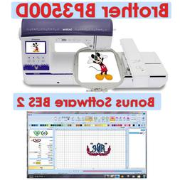"""Brother Innov-is BP3500D 6"""" x 10"""" Embroidery Area Machine On"""
