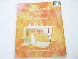Instruction Manual For The Golden Touch & Sew - Deluxe Zig-z