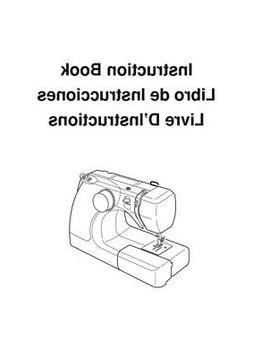 Janome 3128 Sewing Machine Instruction Manual