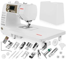 Janome 3160QDC Computerized Sewing Machine w/Hard Cover + Ex