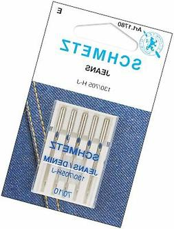 Jean & Denim Machine Needles-Size 10/70 5/Pkg