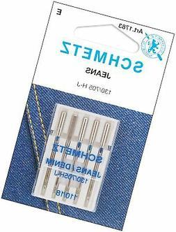Jean & Denim Machine Needles-Size 18/110 5/Pkg