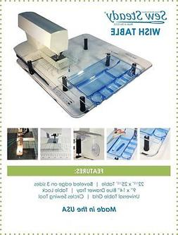 JUKI Sewing Machine Sew Steady Ultimate Wish Extension Table