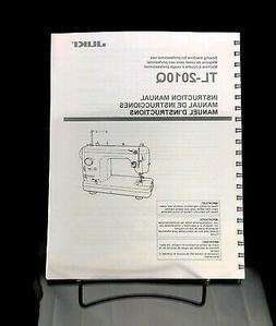 Juki TL-2010Q Sewing Machine Instructions User Guide Manual