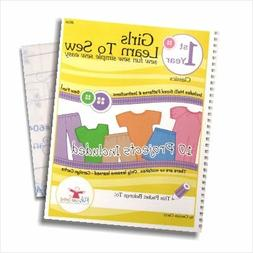 Kids Can Sew® Girls Learn to Sew 1st Year Sewing Pattern Bo