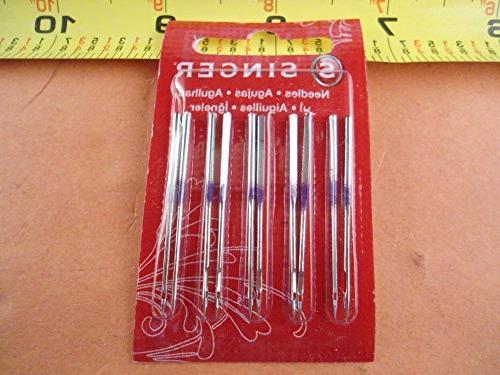 10 14u overlock needles 16